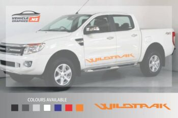 Ranger Wildtrak Side Lettering Decal