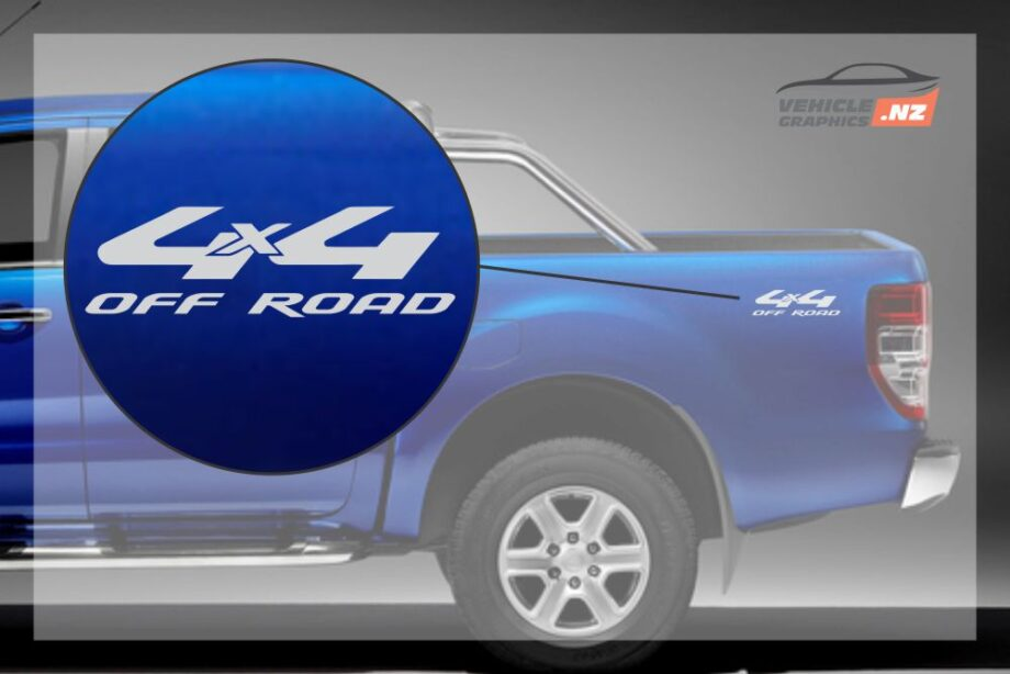 Ranger 4x4 Off Road Decal