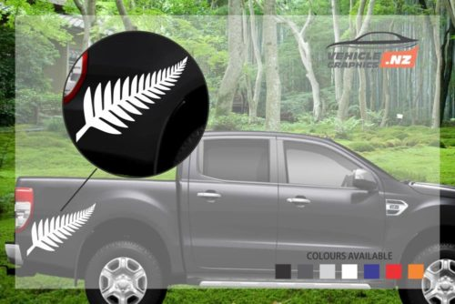 Fern Leaf Vehicle Decal