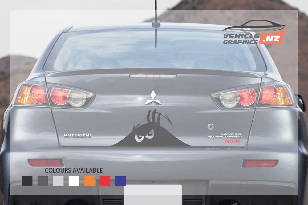 Peeking Monster Vehicle decal