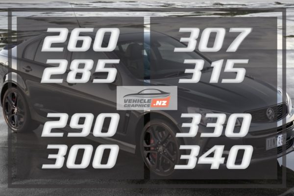 Commodore Clubsport Numbered Decal