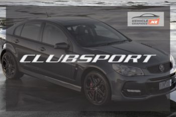 Commodore CLUBSPORT Decal