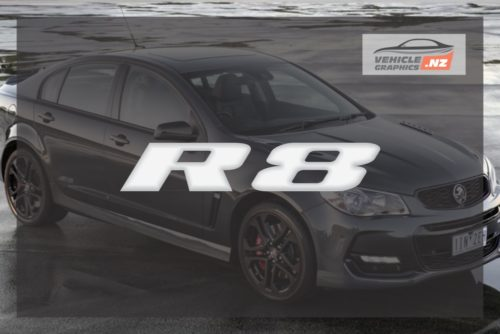 Commodore CLUBSPORT R8 Decal
