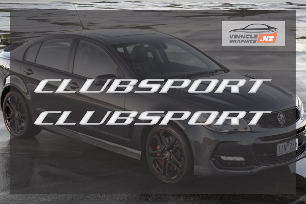 Commodore CLUBSPORT Side Skirt Decal