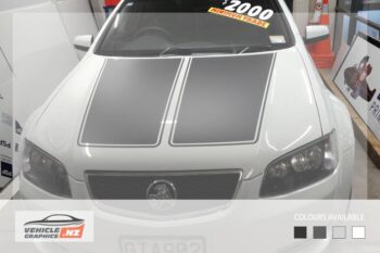 Holden Commodore Bonnet Top Decal
