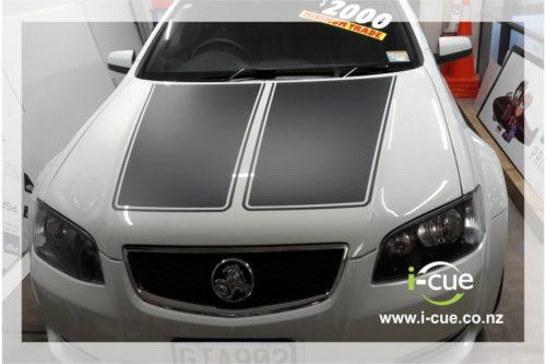 Holden Commodore Bonnet Top Bulge