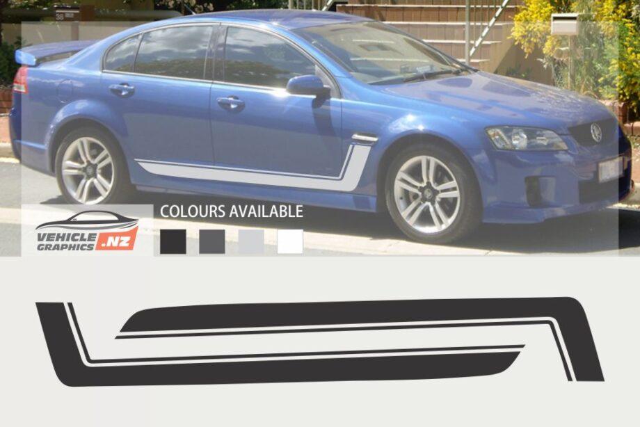 Commodore Side Stripe Decals