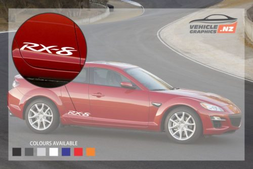 Mazda RX-8 Rear Door Decal