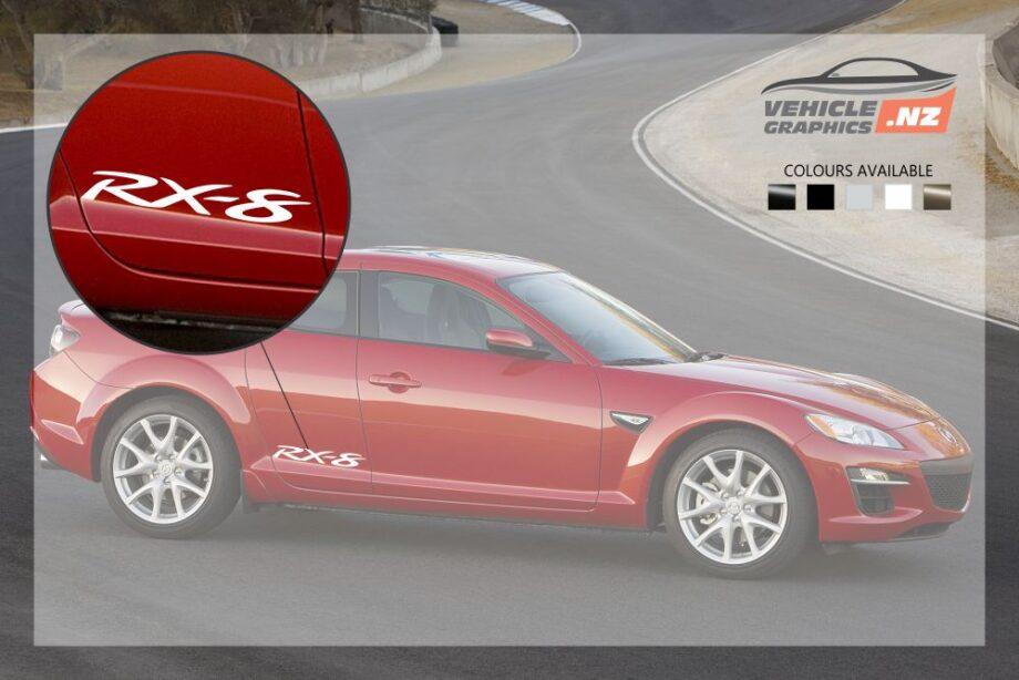 Mazda RX-8 Rear Door Decal