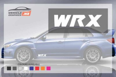 Subaru WRX Front Door Decal