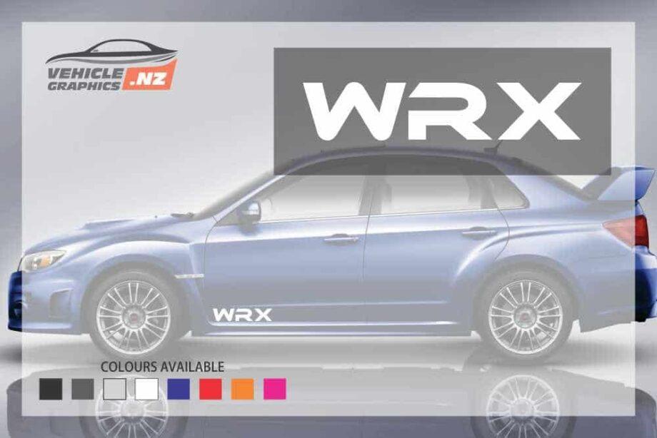 Subaru WRX Front Door Decal