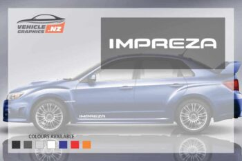 Subaru IMPREZA Side Decals