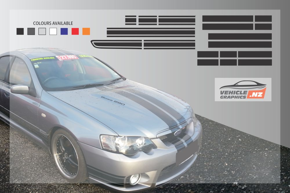 Falcon GT Full Graphic Kit