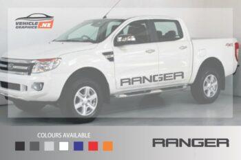 Ranger Side Lettering Decal