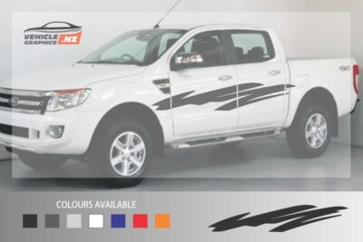 Ranger Waves Side Stripes Decal
