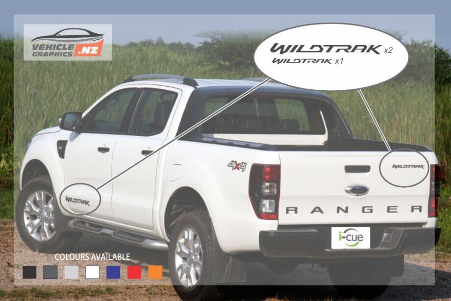 Ranger Wildtrak Decals