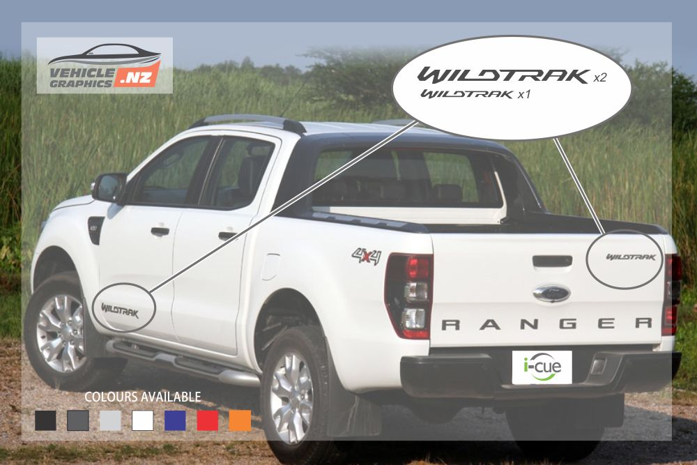 Ranger Wildtrak Decals