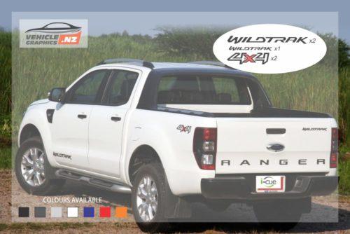 Ranger Wildtrak 4x4 Graphic Kit