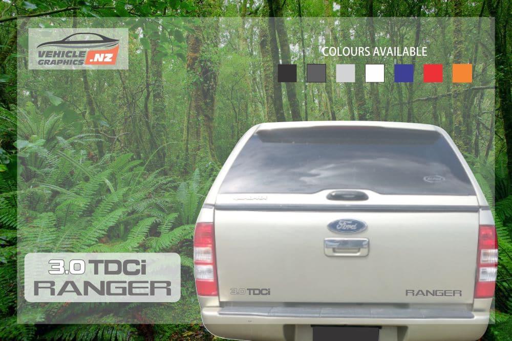 Ranger Back Tailgate 3.0 TDCi Ranger Decal