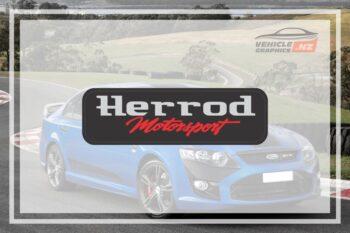 Herrod Motorsport Domed Badge