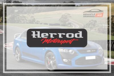 Herrod Motorsport Domed Badge