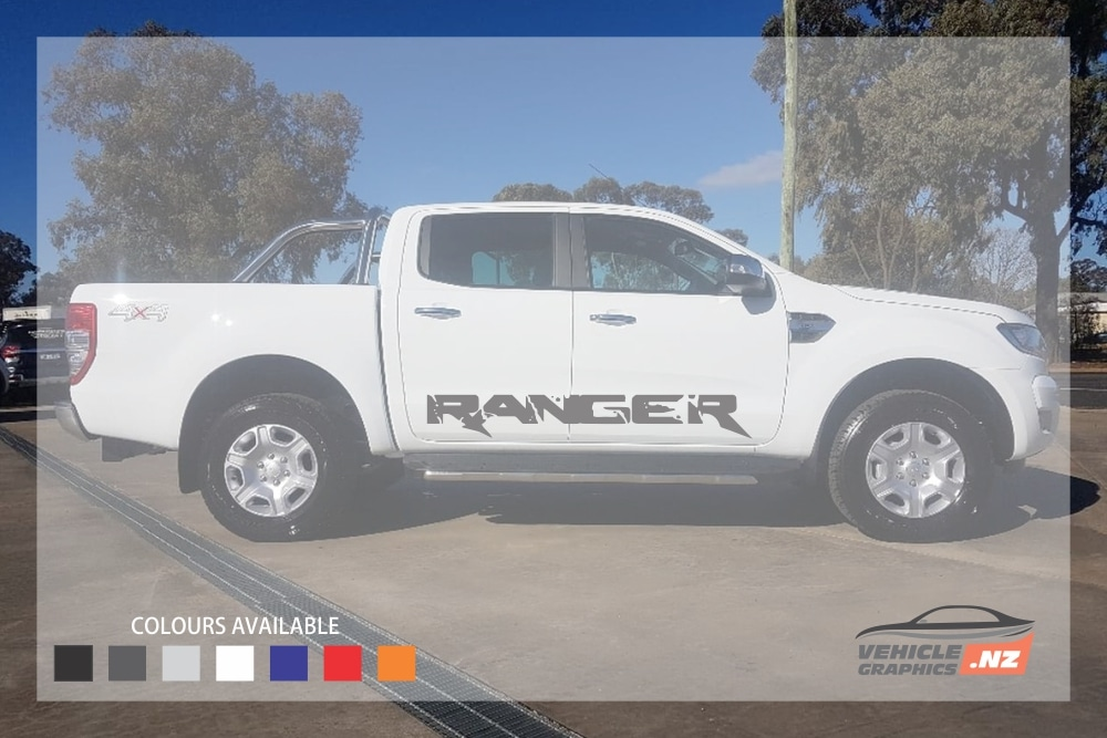 Ranger Text Side Decal