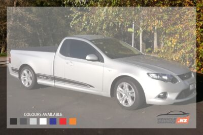 Falcon FG Ute Side Stripes Decals