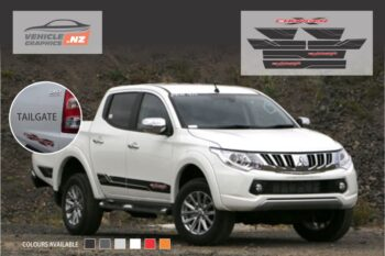Mitsubishi Triton Charger Graphic Kit