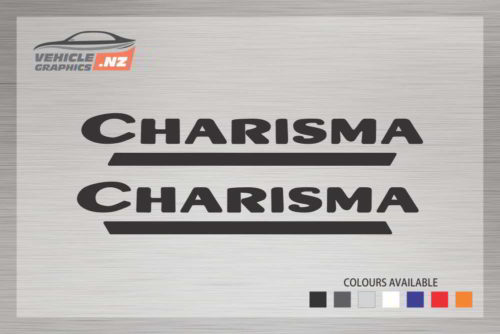 Swift Charisma Caravan Decal