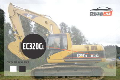 CAT Excavator EC320CL Decal