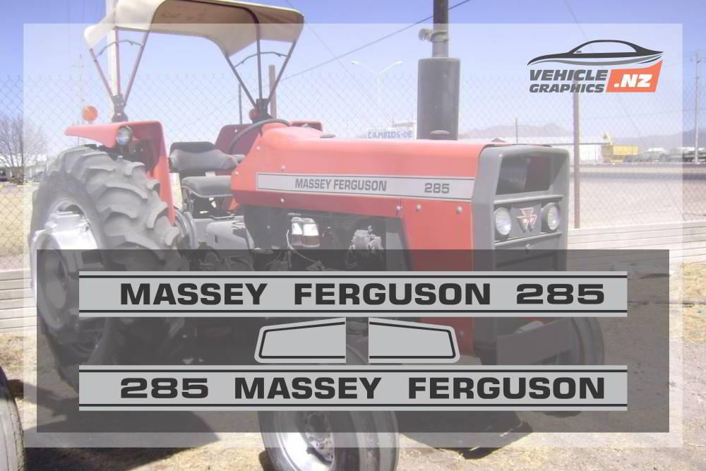 Massey Ferguson 285 Graphic Kit