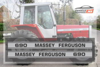 Massey Ferguson 690 Graphic Kit