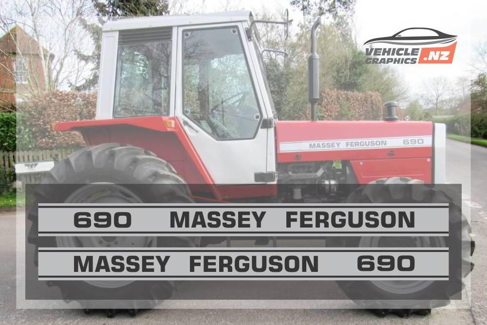 Massey Ferguson 690 Graphic Kit