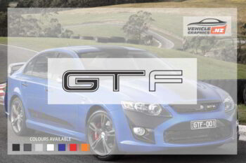 Ford Falcon GTF Decal