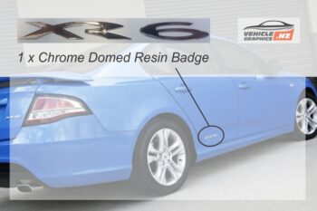 Falcon FG XR6 Resin Badge - Chrome