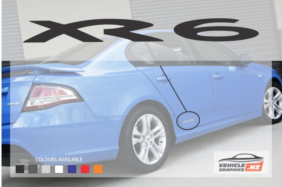 Ford Falcon XR6 Decal