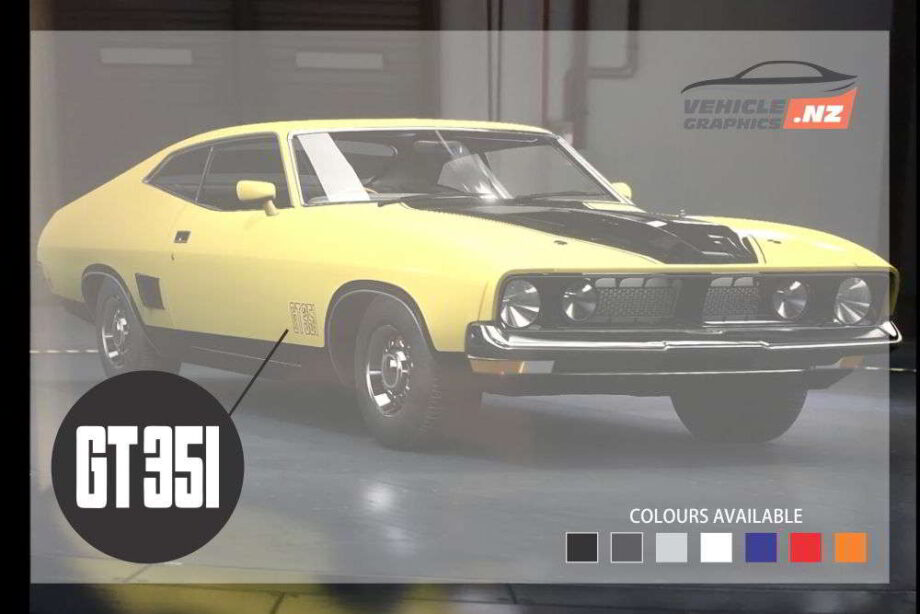 Ford Falcon GT351 Decal