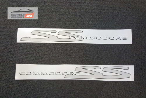 Holden Commodore SS Decals