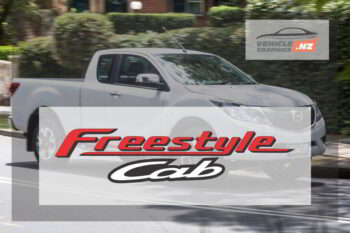 Mazda BT-50 Freestyle Cab Decal