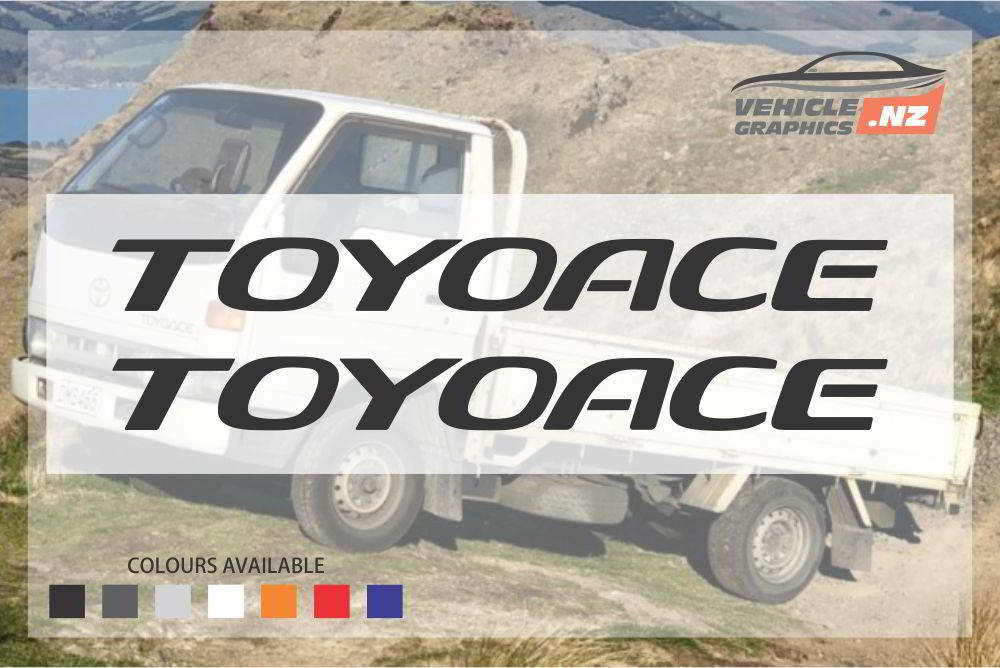 Toyoace Decal