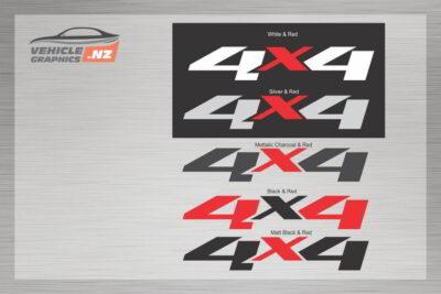 Generic 4x4 Decal