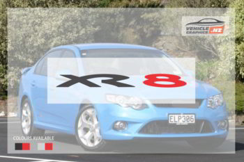 Ford Falcon XR8 Decal