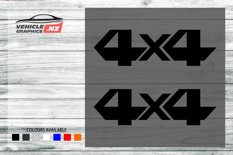 4x4 Generic Vehicle Decals 35015
