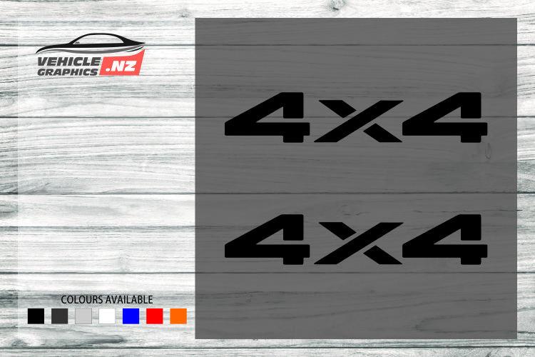4x4 Generic Vehicle Decals 35026