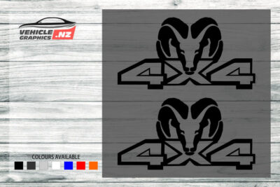 4x4 Decals For Generic Vehicles 35035