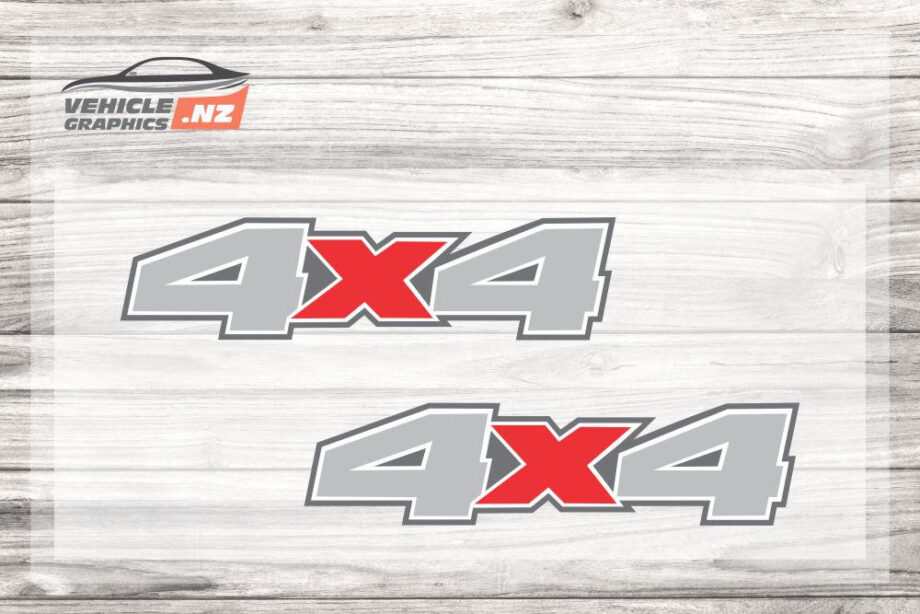 4x4 Decals For Utes 35038