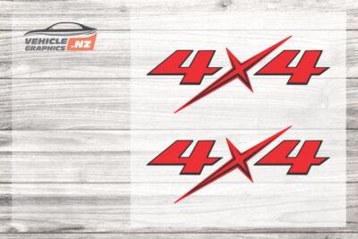 Isuzu D-Max Ute 4x4 Decals 35039-B