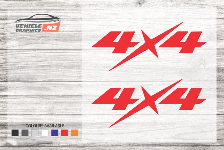 4x4 Isuzu D-Max Ute Decals 35041