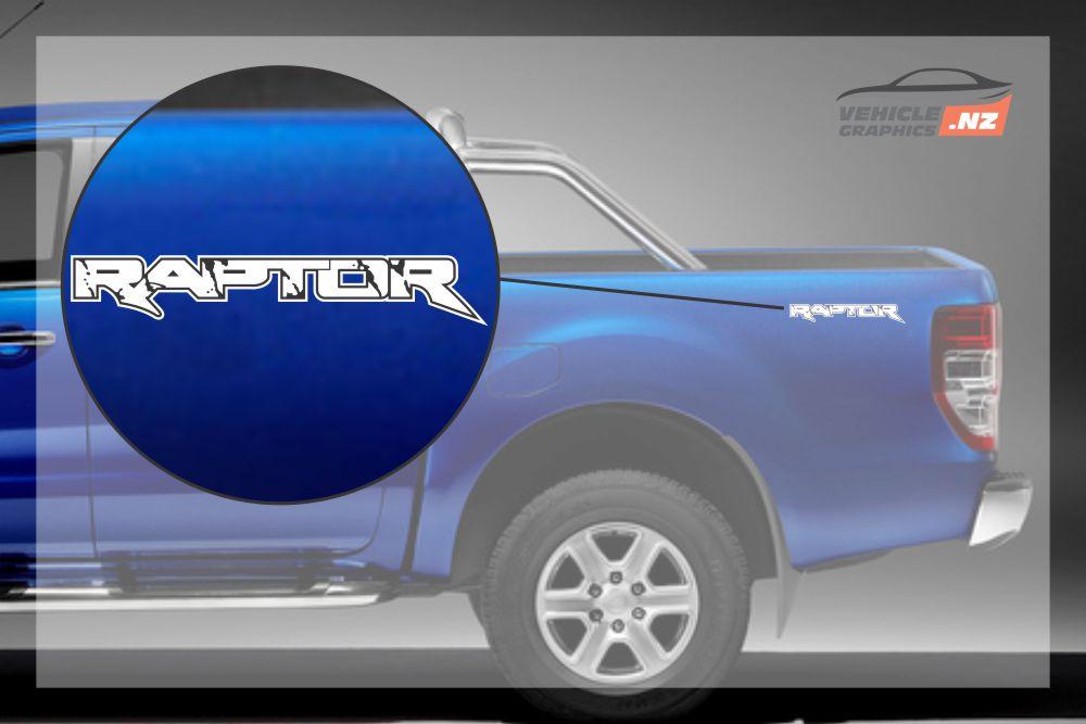 Ranger Raptor Side Bed Decal