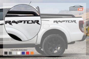 Ford Ranger Raptor Rear Side Decal